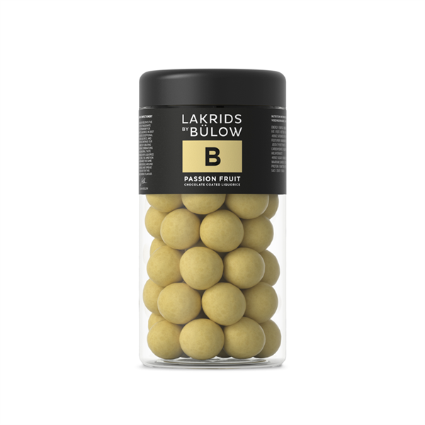 Regular B, Passion fruit, 265g, Lakrids by Bülow
