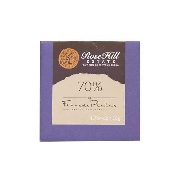 Rose Hill Estate, 70%, 50g, Tobago Estate Chocolate W.I.